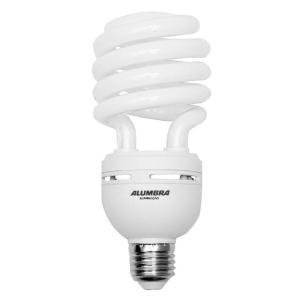 Lâmpada Eletrônica Espiral T4 45W 220V E-27 Branca  - Alumbra