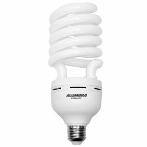 Lâmpada Eletrônica Espiral T5 85W 220V E-27 Branca  - Alumbra