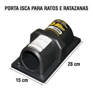 Porta Isca de Ratos e Ratazanas - Dddrin