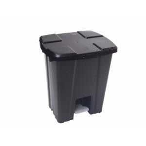Lixeira com Pedal 15 litros Preta P15 - JSN