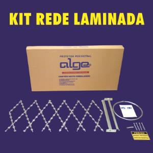 Rede Laminada 0,50x3,0mt com Kit de Instalação - Alge