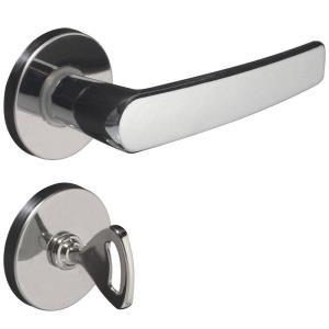 Fechadura Concept Para Banheiro com Roseta 401B Cromada  - Pado