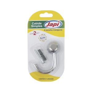 Cabide Plástico Samba Cromado JCSC  - Japi