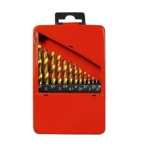 Kit de Brocas de Aço Rápido para Metal 13 Pcs  - MTX