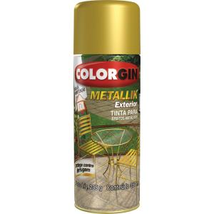 Tinta Spray Metallik Exterior 350ml - Colorgin
