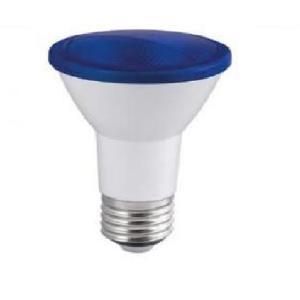 Lâmpada de Led PAR 20 6W E27 Azul IP65 Bivolt - Embu Led