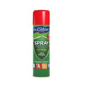 Tinta Spray Multiuso Premium Vermelho 400ml - Eucatex