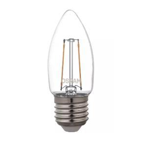 Lâmpada de Led Filamento Vela Lisa 2,5W Branca Morna 2700K Clara E27 Bivolt - Osram