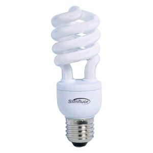 Lâmpada Eletrônica Espiral 15W Branca - ECP