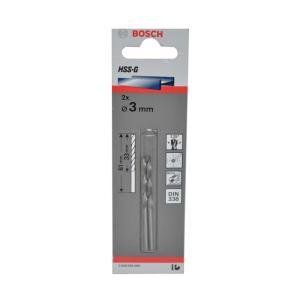 Broca Aco Rapido     3,0MM 2 Pcs - Bosch