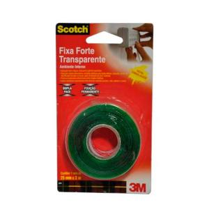 Fita Dupla Face Fixa Forte 25mmX2m - 3M