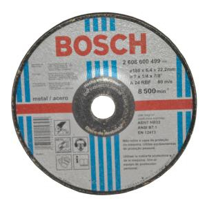 Disco de Desbaste 24 7 - Bosch
