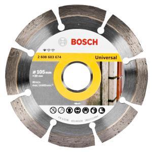 Disco Diamantado Segmentado Universal 105mm - Bosch