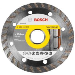 Disco Diamantado Standard Universal Turbo 105mm - Bosch