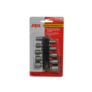 Kit Soquetes 10 Pcs - Skil