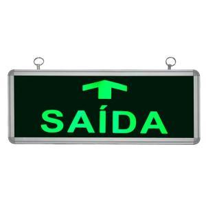 Placa de Sinalização para Saída de LED UN-13 - UNIK Iluminação
