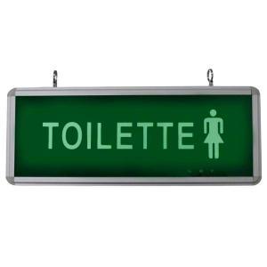 Placa de Sinalização para Toilette Feminino de LED UN-20 - UNIK Iluminação